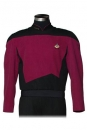 Star Trek The Next Generation Replik Command Burgundy Tunika