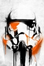 Star Wars Metall-Poster Masked Troopers Banksy 68 x 48 cm