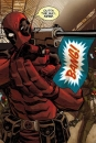 Marvel Comics Metall-Poster Deadpool Covers Outta The Way Nerd 68 x 48 cm