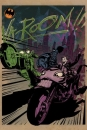 DC Comics Metall-Poster Gotham City Motor Club Gotham City MC 68 x 48 cm