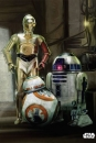 Star Wars Metall-Poster Episode VII Droids 68 x 48 cm