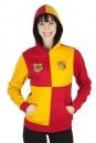 Harry Potter Girlie Wende-Kapuzenjacke Gryffindor Crest