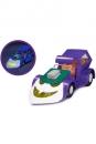 Batman The Animated Series Fahrzeug mit Leuchtfunktion Jokermobile SDCC 2017 15 cm