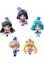 Sailor Moon Petit Chara Sammelfiguren 5er-Pack Sailor Moon Christmas Special Ver. 6 cm