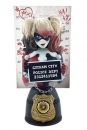 DC Comics Mugshot Büste Harley Quinn Red & Black Edition 19 cm