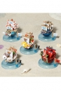 One Piece Yura Serie Wobbling Pirate Ship Collection 6 cm Sortiment
