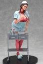 Original Character Vol. 4 Statue 1/5.5 Pin Up Girl Beth The Nurse Ver. Brown Hair 28 cm