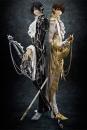 Code Geass: Lelouch of the Rebellion G.E.M. Serie Statuen 1/8 Clamp Works in Lelouch & Suzaku 25 cm