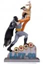 DC Comics Statue Batman vs The Joker Laff-Co Battle 34 cm