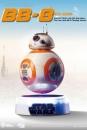 Star Wars Episode VIII Egg Attack Schwebe-Modell mit Leuchtfunktion BB-8 13 cm
