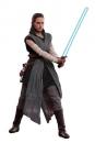 Star Wars Episode VIII Movie Masterpiece Actionfigur 1/6 Rey Jedi Training 28 cm