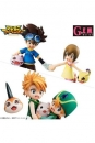 Digimon Adventure G.E.M. Serie PVC Statuen Brother Set 15 cm