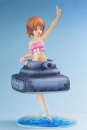 Girls und Panzer der Film PVC Statue 1/7 Nishizumi Miho Swim Wear & Tank Style Float Ring Ver. 22 cm