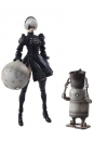 NieR Automata Bring Arts Actionfiguren 2B & Machine Lifeform 9 - 15 cm