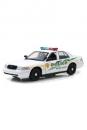 CSI Miami Diecast Modell 1/18 2003 Ford Crown Victoria Police Interceptor