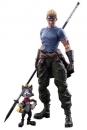 Final Fantasy VII Advent Children Play Arts Kai Actionfiguren Cid Highwind & Cait Sith 9 - 27 cm