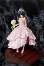 Date A Live Statue 1/8 1/7 Kurumi Tokisaki Wedding Ver. Pink 22 cm