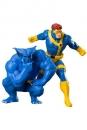 Marvel Universe ARTFX+ Statuen 1/10 Doppelpack Cyclops & Beast (X-Men 92) 16 cm