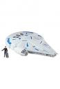 Star Wars Solo Force Link 2.0 Fahrzeug mit Figur 2018 Kessel Run Millennium Falcon