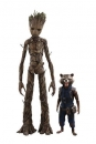 Avengers Infinity War Movie Masterpiece Actionfiguren Doppelpack Groot & Rocket 16 - 30 cm