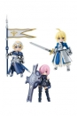 Fate/Grand Order Desktop Army Actionfiguren 8 cm Sortiment Masch & Altria & Jeanne