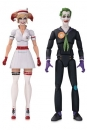 DC Bombshells Designer Series Actionfiguren 2er-Pack Nurse Harley & The Joker by Ant Lucia 17 cm