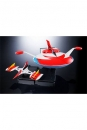 UFO Robot Grendizer Soul of Chogokin Actionfigur GX-76U Grandizer D.C. Spazer Set 18 cm