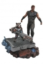 Avengers Infinity War Marvel Premier Collection Statue Thor & Rocket Raccoon 30 cm