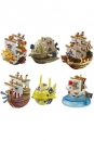 One Piece Yura Serie 3 Wobbling Pirate Ship Collection 6 cm Sortiment
