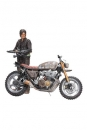 The Walking Dead Deluxe Actionfigur Daryl Dixon mit Chopper Staffel 5/6 13 cm