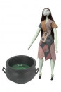 Nightmare before Christmas Puppe Cauldron Sally Deluxe Coffin Doll 36 cm