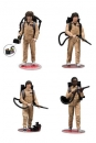 Stranger Things Actionfiguren 4er-Pack Ghostbusters 15 cm