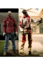 Dawn Of The Dead Actionfiguren 1/12 Doppelpack Flyboy & Plaid Shirt Zombie 17 cm
