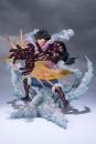 One Piece FiguartsZERO PVC Statue Monkey D. Ruffy Gear 4 Leo Bazooka 18 cm