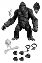 King Kong Actionfigur King Kong of Skull Island Previews Exclusive Black & White Version 18 cm
