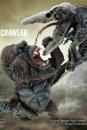 Kong Skull Island Deform Real Series Soft Vinyl Statue Kong vs Crawler 23 cm