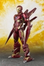 Avengers Infinity War S.H. Figuarts Actionfigur Iron Man MK50 Nano Weapons Tamashii Web Ex. 16 cm