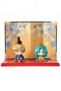 Sailor Moon Petit Chara Minifiguren 2er-Set Hinamatsuri Haruka & Michiru 6 cm