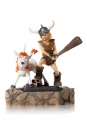 Dungeons & Dragons BDS Art Scale Statue 1/10 Bobby The Barbarian & Uni 16 cm