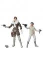Star Wars Episode V Black Series Actionfiguren 2018 Leia & Han (Hoth) Convention Exclusive 15 cm