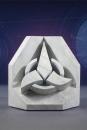 Star Trek Buchstütze Klingon Emblem 16 cm
