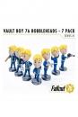 Fallout 76 Wackelkopf-Figuren 13 cm Vault-Tec Vault Boys Serie 1 7er- Pack