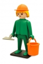 Playmobil Vintage Collection Figur Bauarbeiter 21 cm