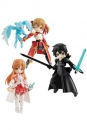 Sword Art Online Desktop Army Actionfiguren 8 cm Sortiment Asuna & Kirito & Shirika