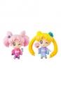 Sailor Moon Petit Chara Minifiguren Doppelpack Sailor Moon & Chibiusa Kyotobeni Ver. 5 cm