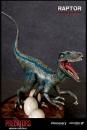 Predators Predatory Scale Statue Raptor 26 cm