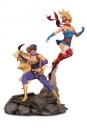 DC Bombshells Statue Batgirl & Supergirl Celebration 38 cm