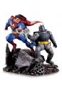 DC Comics Mini Battle Statue Batman vs. Superman 16 cm