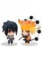 Naruto Chimimega Buddy Series Minifiguren 2er-Pack Naruto & Sasuke Set 7 cm