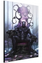 Marvel Holzdruck Black Panther on Throne by In-Hyuk Lee 40 x 60 cm